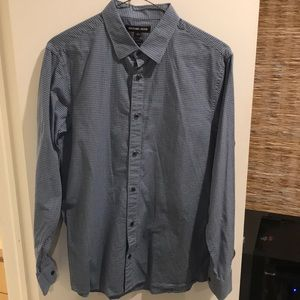 Michael Kors Tailored Fit Button Down Shirt